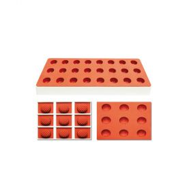 TG1027-Silicone-jelly moulds-pineapple