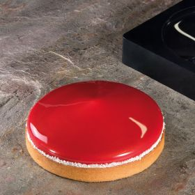 Frisbee slicone mould for 3d tops for tarts