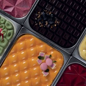 Iceberg Top Ice gelato half pan silicone mould