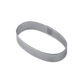 XF12-Oval- stainless-steel-micro-perforated-band