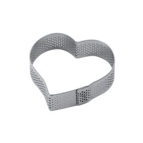 XF14-Heart-stainless-steel-micro-perforated-band