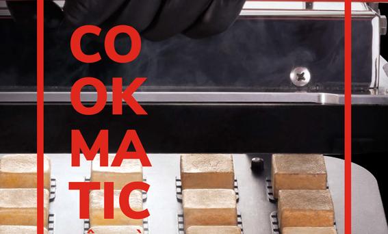 Brochure novità piastre per Cookmatic