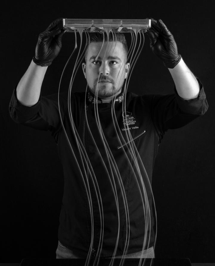 Chef Vincent Vallée for Pavoni Italia