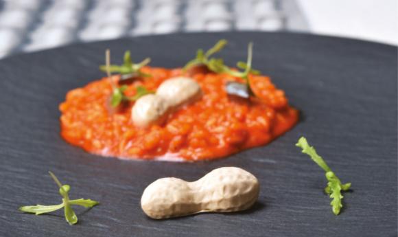 Pavoni Italia Peanut Lo Basso risotto