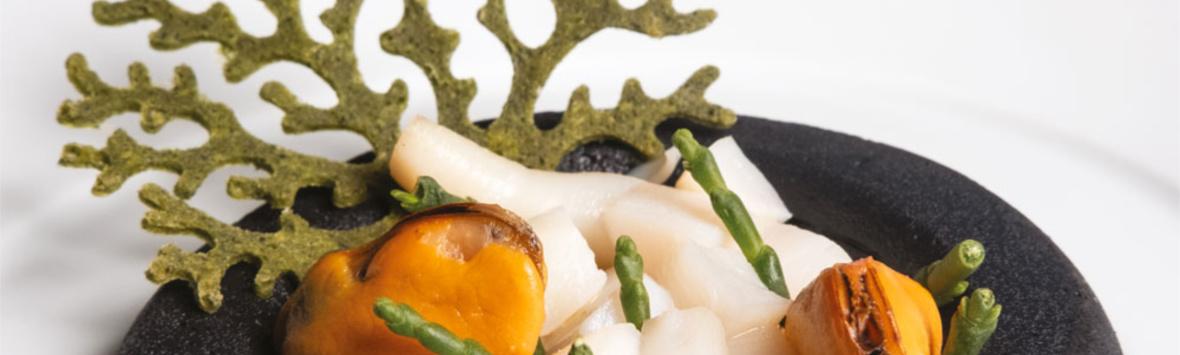 Ricetta Paolo Griffa per Pavoni Italia ragout de coquillages